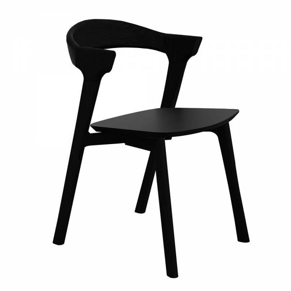 Bok Dining Chair – Black Oak | Rouse Home