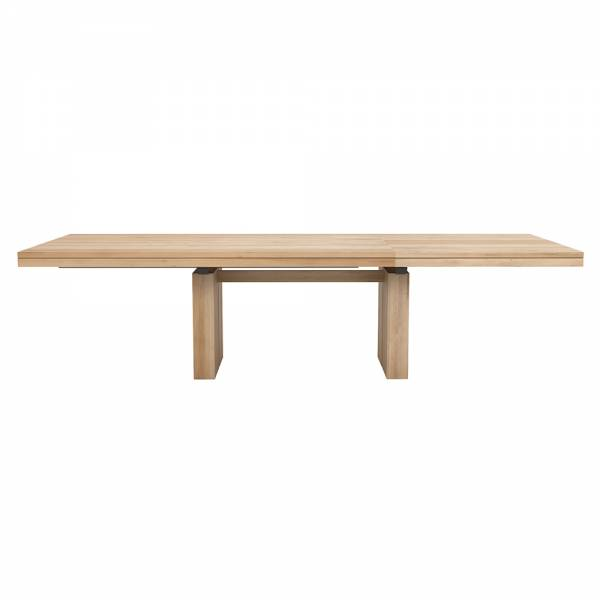 Double Extendable Dining Table – Oak | Rouse Home