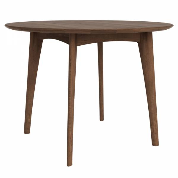 Osso Round Dining Table High – Walnut | Rouse Home
