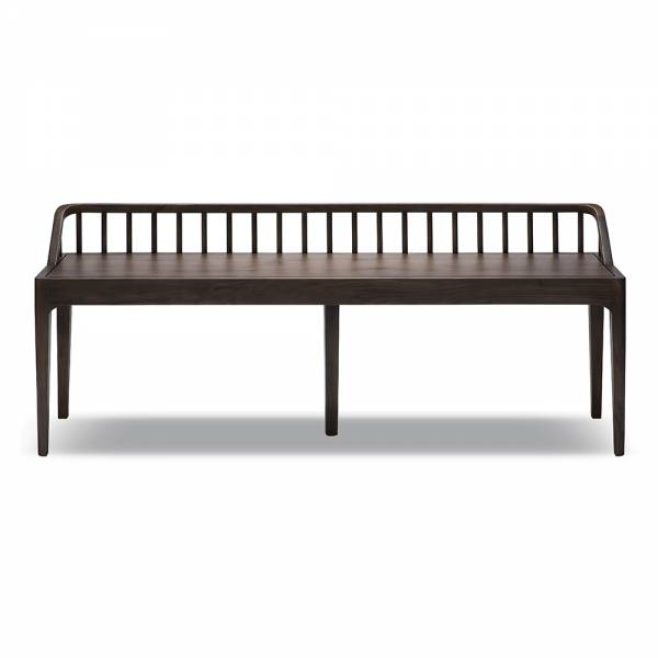 Spindle Bench – Walnut | Rouse Home